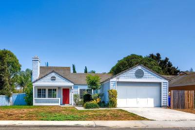 Oceanside Single Family Home For Sale: 816 Sunningdale Drive