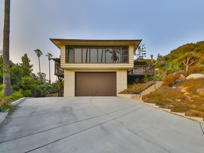 Single Family Home For Sale: 1860 Hidden Mesa Rd