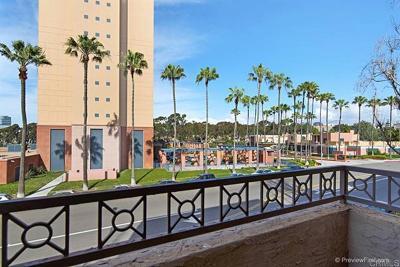 San Diego Attached For Sale: 3550 Lebon Dr #6202