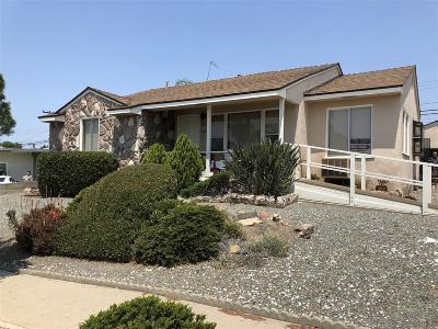 San Diego Single Family Home For Sale: 5722 Waring Road