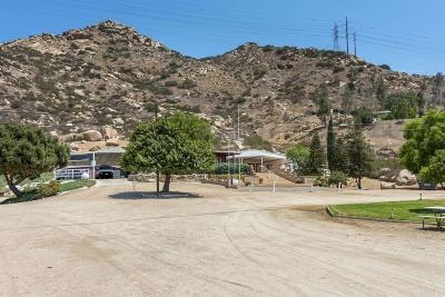 San Diego County Single Family Home Pending: 13610 Willow Rd