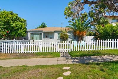 Coronado Single Family Home For Sale: 354 E Avenue