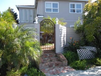 Coronado Single Family Home For Sale: 901 Adella Avenue