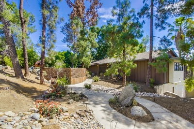 La Mesa Single Family Home For Sale: Mars Way