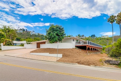 La Jolla Single Family Home For Sale: 7378 Via Capri