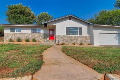 Escondido Single Family Home For Sale: 1630 Donalor