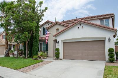 Oceanside Single Family Home For Sale: 4346 Vista Verde Way