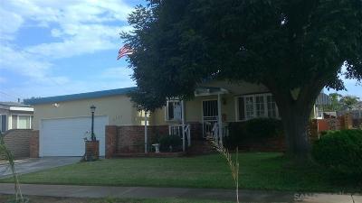 San Diego Single Family Home For Sale: 2239 Hemlock Ave