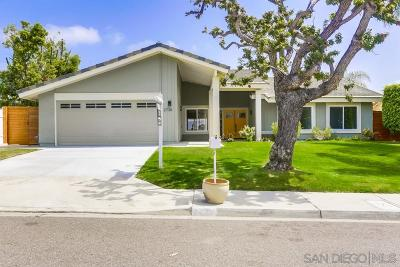 Single Family Home For Sale: 2736 Galicia Way