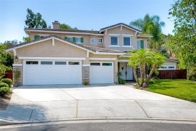 San Diego Single Family Home For Sale: 11771 Mandrake Ct
