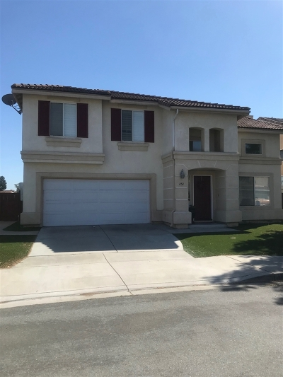 Single Family Home For Sale: 854 Camino Del Sol