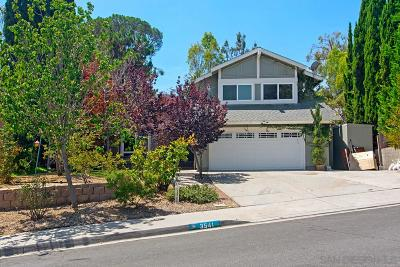 Oceanside Single Family Home For Sale: 3541 Sea Ridge Rd