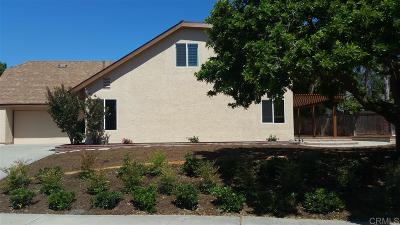 Vista Single Family Home For Sale: 480 Moa Dr