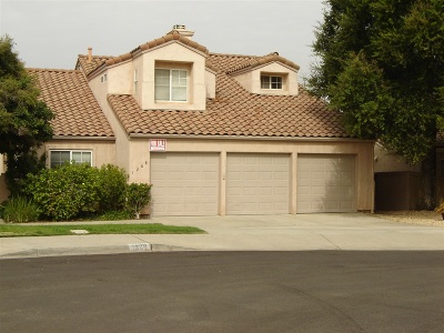 Escondido Single Family Home For Sale: 1368 Gilmore Pl