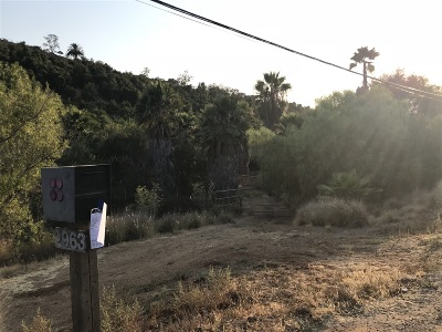 Vista Residential Lots & Land For Sale: Gopher Canyon Rd #07