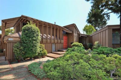 Single Family Home For Sale: 1442 Hillsmont Dr