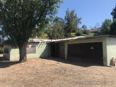 Santee Single Family Home For Sale: 8307 Mesa Rd
