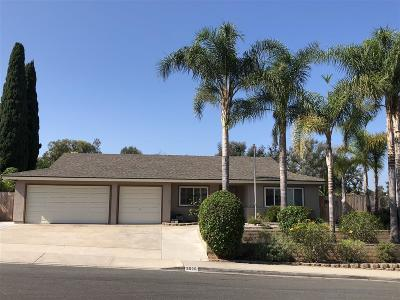 Bonita Single Family Home For Sale: 3929 Bonita View Dr