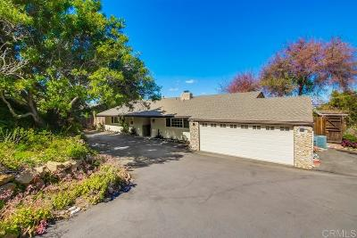 La Mesa Single Family Home For Sale: 5015 Helix Terrace