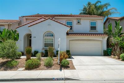 Carlsbad Single Family Home Sold: 6046 Paseo Carreta