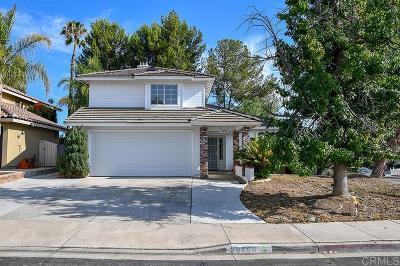 Murrieta Single Family Home For Sale: 39860 Wheatley Dr
