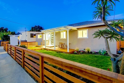 San Diego Single Family Home For Sale: 1763 Pentuckett Ave