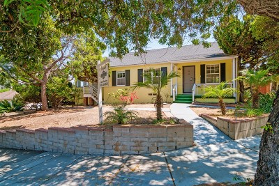 San Diego Single Family Home For Sale: 3793 Poe St