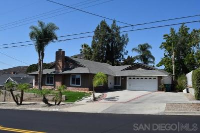 San Diego Single Family Home For Sale: 7756 Lake Adlon Drive