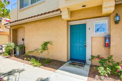 San Diego County Townhouse For Sale: 11364 Via Rancho San Diego #Unit F