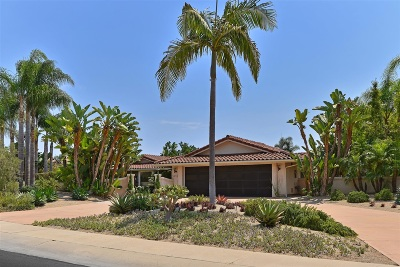 La Jolla Single Family Home For Sale: 5959 Via Zurita