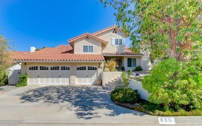 Escondido CA Single Family Home For Sale: $749,100