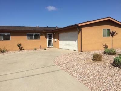 Chula Vista Single Family Home For Sale: 1284 Dixon Way