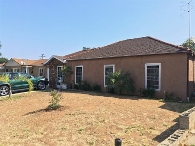 San Diego Single Family Home For Sale: 2431 Morningside Street