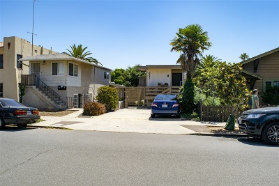 San Diego Multi Family 2-4 For Sale: 3341 Grim Avenue