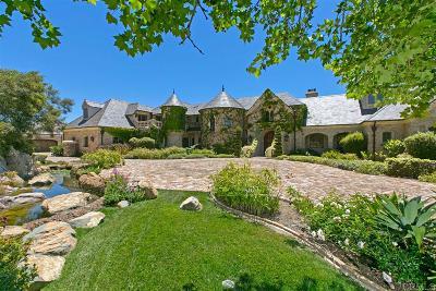 Single Family Home For Sale: 18441 Via Ambiente