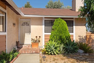 Vista Single Family Home For Sale: 469 Rancho Vista