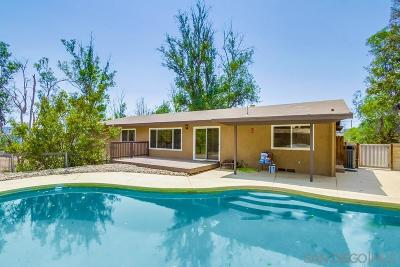Single Family Home For Sale: 10957 Valle Vista Rd