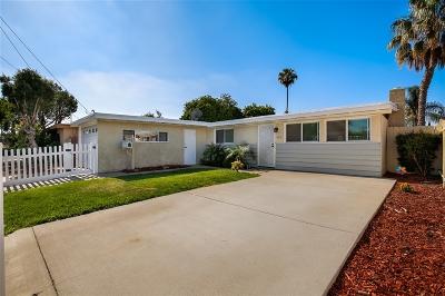 San Diego Single Family Home For Sale: 5103 Conrad Ave
