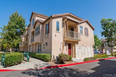 Chula Vista Townhouse For Sale: 2731 White Pine Ct