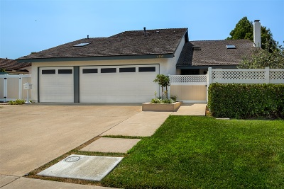 University City Single Family Home For Sale: 6232 Stresemann St