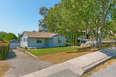 Escondido Single Family Home For Sale: 751 E 5th Ave