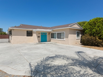 Single Family Home For Sale: 6602 Crawford St