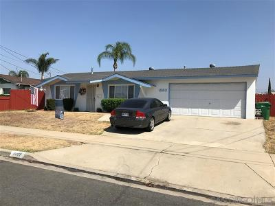Single Family Home For Sale: 1580 Richandave Ave