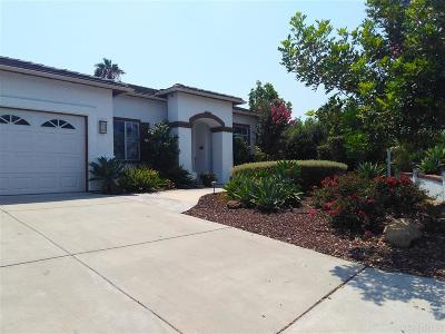 Oceanside Single Family Home For Sale: 1565 Whispering Palm Drive
