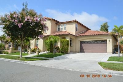 Chula Vista Single Family Home For Sale: 1585 Trailwood Ave