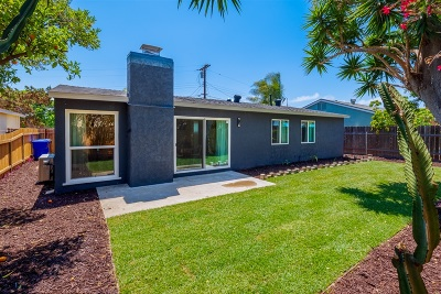 San Diego Single Family Home For Sale: 8270 Ainsley Ct