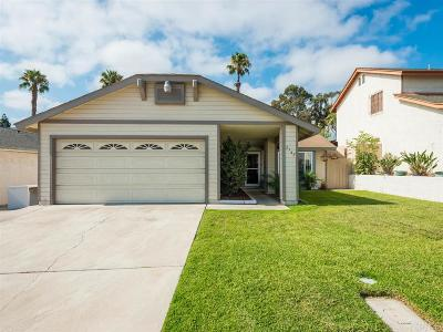 San Diego Single Family Home For Sale: 2743 Lungos Court