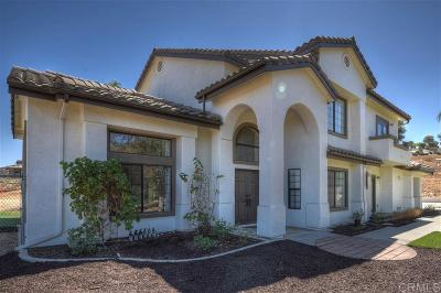 Valley Center Single Family Home For Sale: 30077 Alta Mira Ln