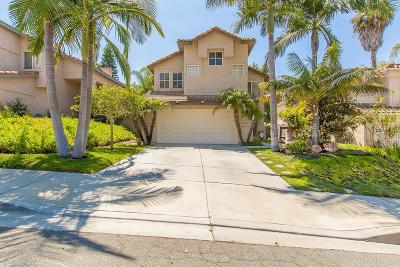 Oceanside Single Family Home For Sale: 1645 Calle Las Casas