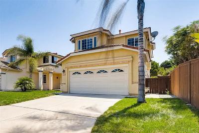 Chula Vista Single Family Home For Sale: 1250 La Crescentia Dr